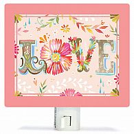 Night Light - Floral Love