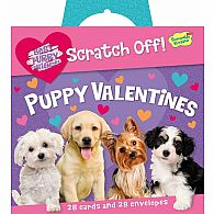 Puppy Scratch Off Valentines