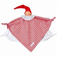 Organic Waldorf Towel Doll Red