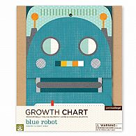 Growth Chart - Blue Robot