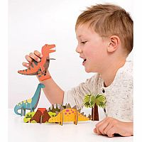 Pop-out Playset - Dinosaurs