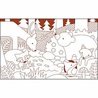 Coloring Book - Animal World