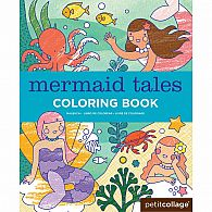 Coloring Book - Mermaid Tales