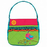 Quilted Purse, Birds
