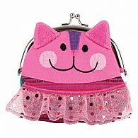 Coin Purse Kiss Lock, Cat