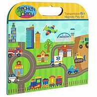 Magnetic Play Set, Transportation