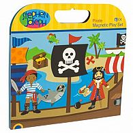 Magnetic Play Set, Pirate