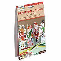 Paper Doll Chain - Holiday