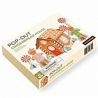 Pop-out Playset - Gingerbread House