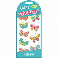 Butterfly Furry Stickers