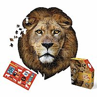 550 pc Shaped Puzzle I Am Lion