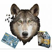 550 pc Shaped Puzzle I Am Wolf