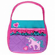 Quilted Purse, Unicorn