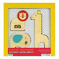 Wooden Instruments - Animal Menagerie
