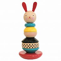 Wood Stacking Toy - Rabbit
