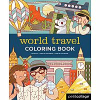 Coloring Book - World Travel
