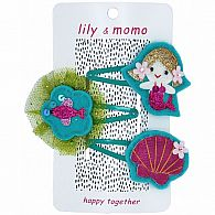 Hair Clip - Mermaid Trio