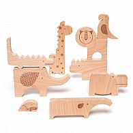 Wooden Puzzle - Jumble Safari