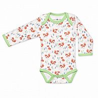Arctic Fox Long Sleeve Onesie 0-3 months