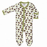 Snow Bear Footie 6-9mo