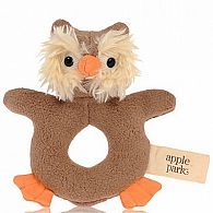 Teething Rattle - Owl