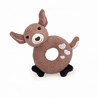 Teething Rattle - Fawn