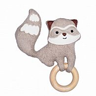 Playground Pal Raccoon Teether