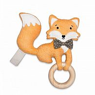 Playground Pal Fox Teether