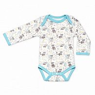 Raccoon Long Sleeve Onesie 9-12mo