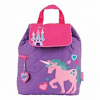 Quilted Backpack, Unicorn