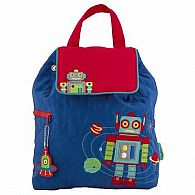 Quilted Backpack, Robot