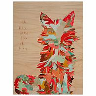 Wall Art - Oh Hey Little Fox 14x18