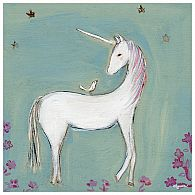 Wall Art - Unicorn and Friends 14x14