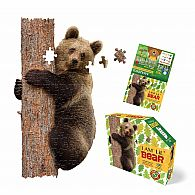 100 pc Shaped Puzzle I Am Lil Bear