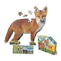 100 pc Shaped Puzzle I Am Lil Fox