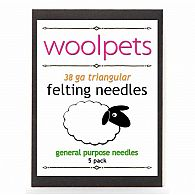 Felting Needles 5pk 38GA triang