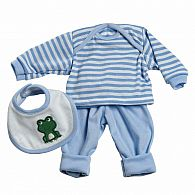 3-pc Layette Set - Blue