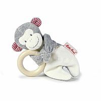 Carlo Monkey Wood Grabbing Toy