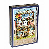 350 pc Family Puzzle Birds of the World