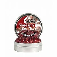 Burmese Ruby Precious Gem Putty