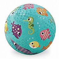 Crocodile Creek Fish Turquoise Playground Ball 7 inches