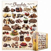 Chocolates Puzzle 1000 Pieces