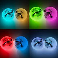 Light-Up Spin Balls (Set of Two)