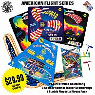 American Flight Drop Ship Package