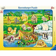 14pc Frame Puzzle - The Zoo
