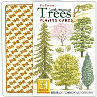 North American Trees Playing Cards
