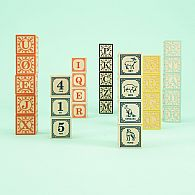 Alphabet Blocks Norwegian