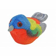 Audubon Bird II Painted Bunting
