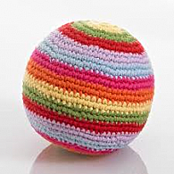 Rainbow Ball Rattle