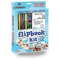 Flipbook Kit, Rocket & Robot